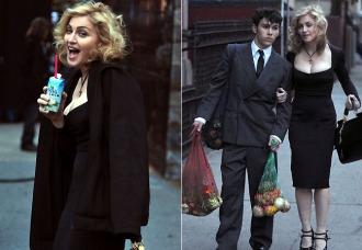 Madonna em Nova York, abril de 2010
