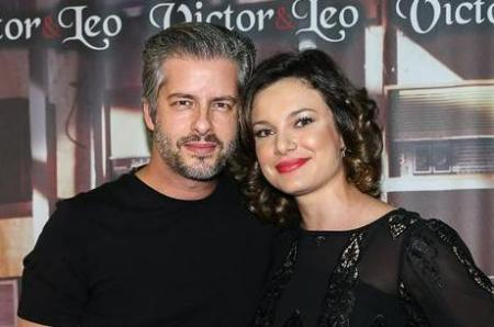 Victor Chaves e Poliana Bagatini (foto de Manuela Scarpa/ Brazil News)