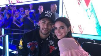Neymar e Bruna Marquezine acompanharam a final do The Voice Kids